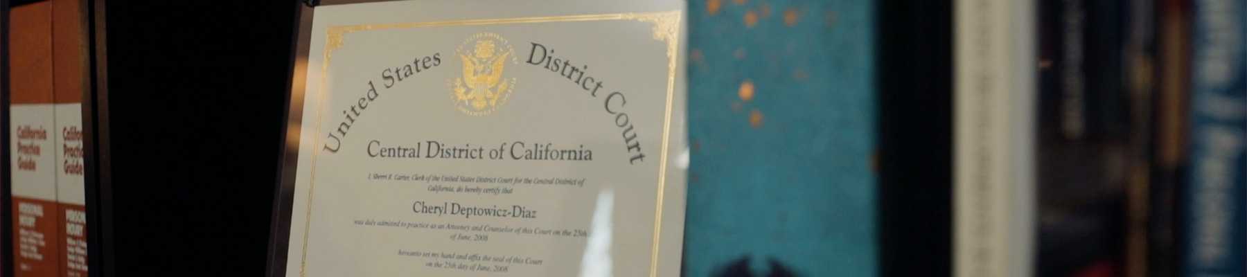 attorney cheryl deptowicz-diaz law certificates